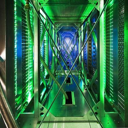 google data center green